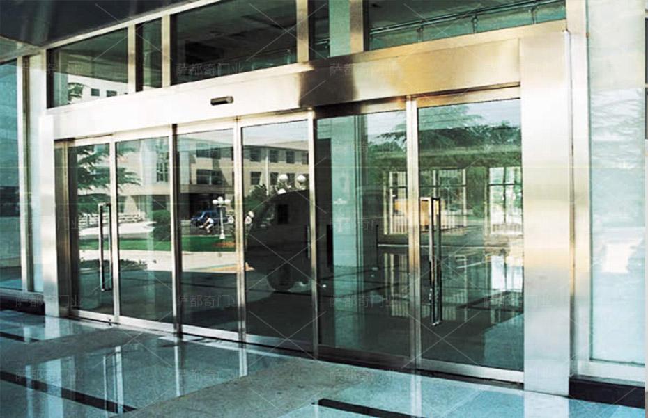 玻璃感应门1