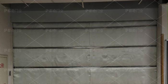 电动特级防火卷帘门具体安装技术讲解
